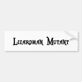 Lizardman Mutant Sticker