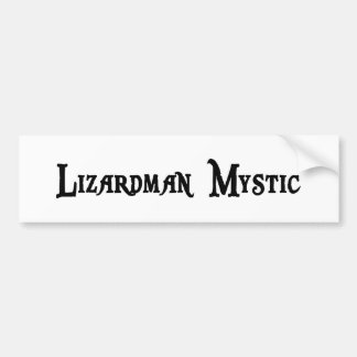 Lizardman Mystic Sticker