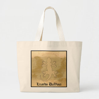 Lizardo DaVinci Tote Bags