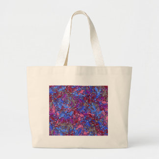 Lizards artistic pattern 5 large tote bag