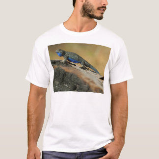 Lizards Blue Belly Scales T-Shirt