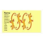 LIZARDS Business Cards