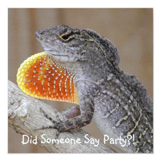 Lizards! Card