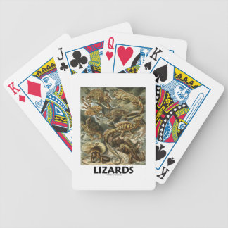 Lizards Ernest Haeckel Artforms Of Nature Bicycle Playing Cards