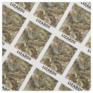Lizards Ernest Haeckel Artforms Of Nature Fabric