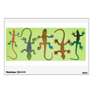 Lizards For His Wall! Wall Decals