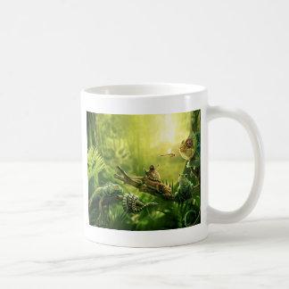Lizards Frogs Jungle Reptiles Landscape Classic White Coffee Mug