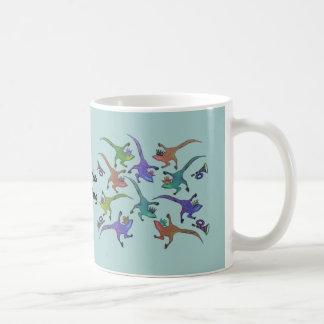 Lizards Leaping Mug