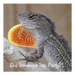Lizards! Personalized Invitations