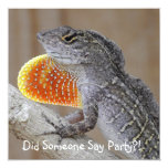 Lizards! Personalized Invitations