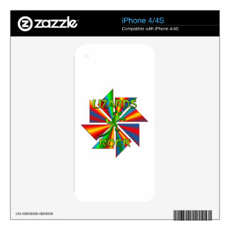 Lizards Rock Skin For The iPhone 4