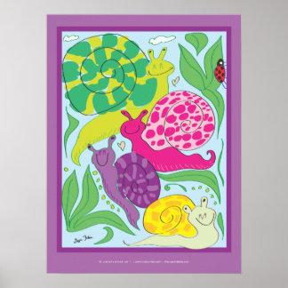 LizartLizard Poster Snail Sketch