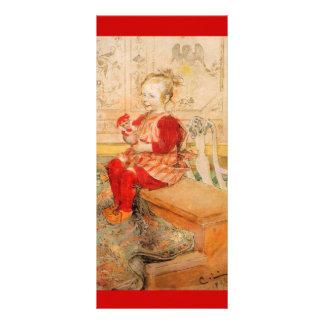 Lizbeth Holding a Doll Rack Card
