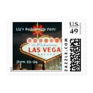 Liz's Bachelorette Party, June 22-24 Postage Stamp