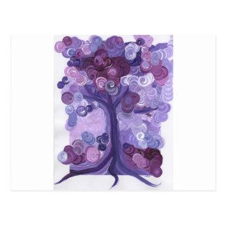 Liz's Dixon's Tree   First Star Art by jrr Postcard