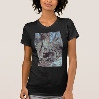 Lizzard tree womans tee shirt