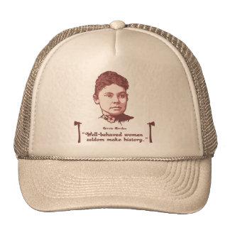 Lizzie bien comportado gorra