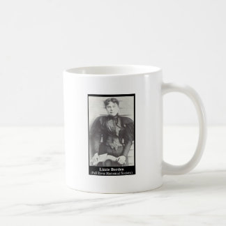 lizzie borden classic white coffee mug
