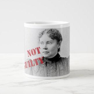 Lizzie Borden ~ Not Guilty 20 Oz Large Ceramic Coffee Mug