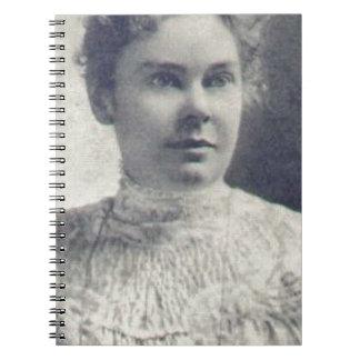 lizzie borden spiral note books