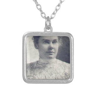 lizzie borden square pendant necklace