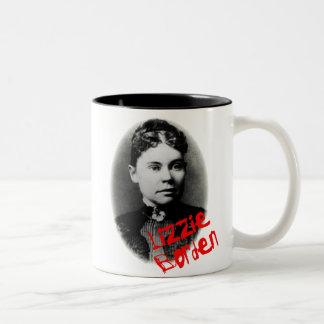 Lizzie Borden Two-Tone Coffee Mug