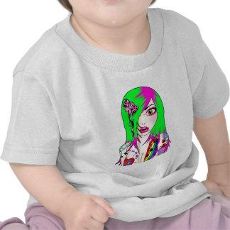 Lizzie raído camiseta