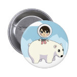 Lizzy and Frosting Pinback Buttons