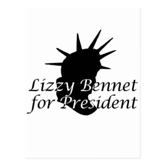 Lizzy Bennet para el presidente Postales