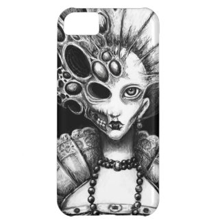 """Lizzy"" Dark Art by Laura Moran iPhone 5C Case"