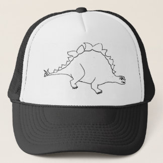 lizzy the dino trucker hat