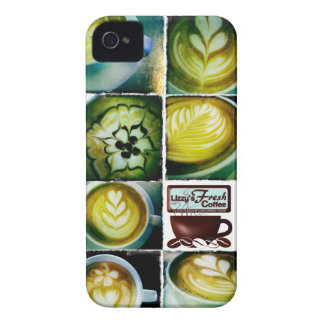 Lizzy's Coffee Babies iphone 4 case