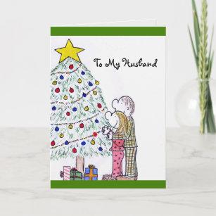 lizzys people merry christmas to my husband card - Merry Christmas Husband