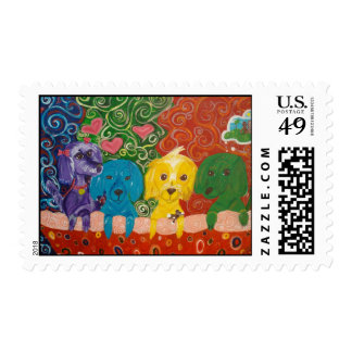 Lizzy's Puppies Stamp