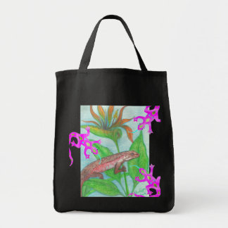 Lizzzard AND Pink Geckos! Tote Bag
