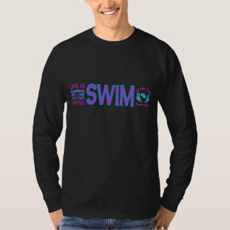 LJCSC Life is Better When You Swim Tee