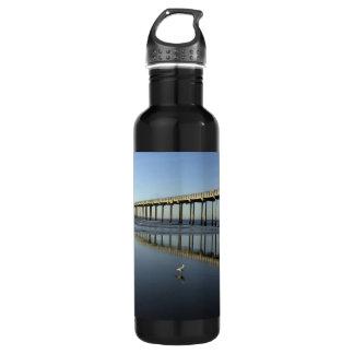LJCSC Scripps Pier Water Bottle