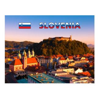 Ljubljana 002C Postcard