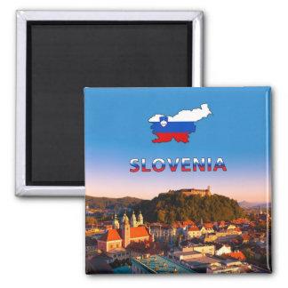 Ljubljana 002T Magnet