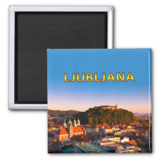 Ljubljana 002U Imán Cuadrado
