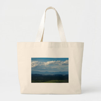 Ljubljana across the moors large tote bag