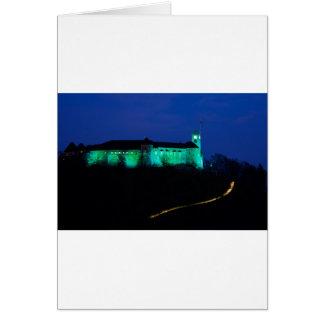 Ljubljana Castle Card