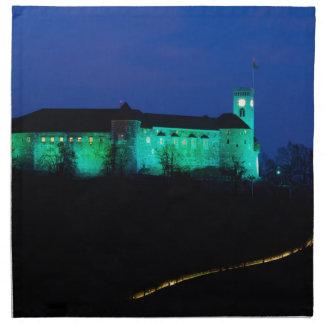 Ljubljana Castle Cloth Napkin