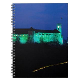 Ljubljana Castle Notebook