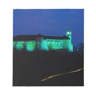 Ljubljana Castle Notepad