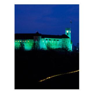 Ljubljana Castle Postcard