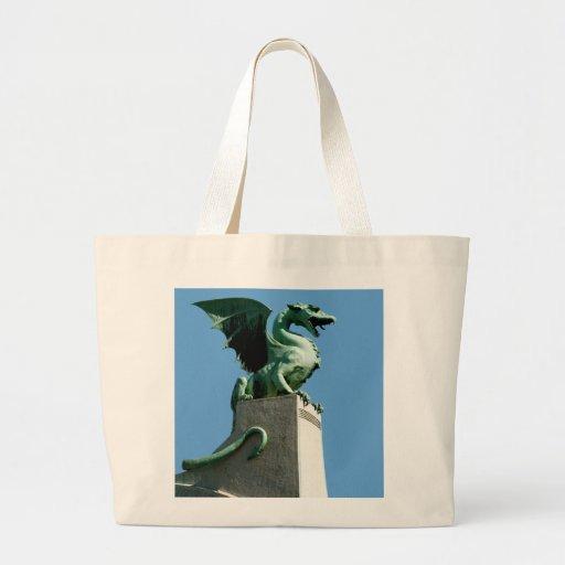 Ljubljana Dragon Tote Bag
