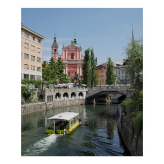Ljubljana Eslovenia Póster