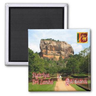 LK - Sri Lanka - la fortaleza de la roca de Imán Cuadrado