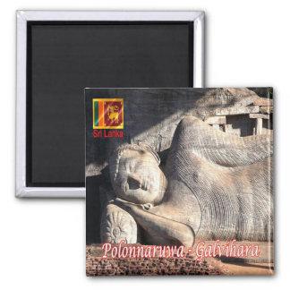 LK - Sri Lanka - Polonnaruwa - Galvihara - Imán Cuadrado